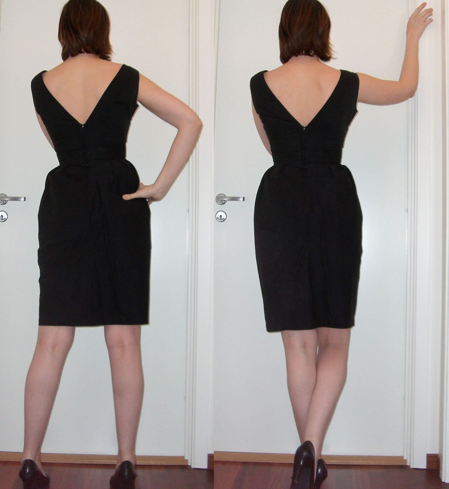 how to make a dress bigger in the back