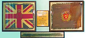 161st Batallion Colours, Trivitt Memorial