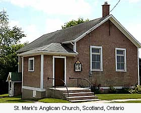 St Mark's, Scotland, Ontario