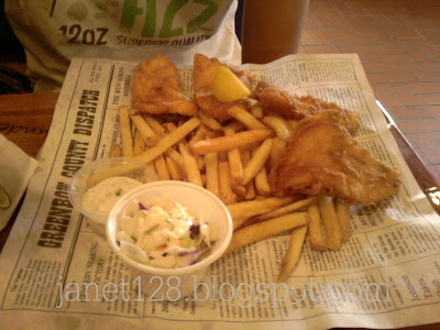 Fish and chips in newspaper for Fish and chips newspaper