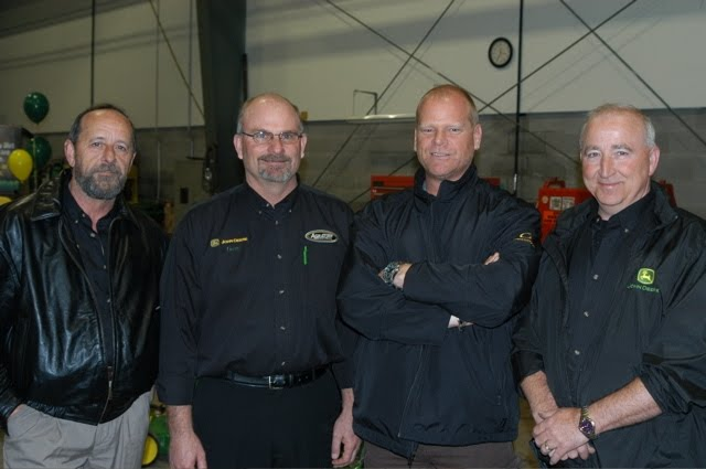 Mike Holmes at Agraturf's store opening