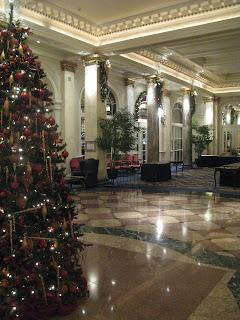 Calgary's Fairmont Palliser Lobby