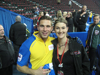 John Morris of the Alberta Team Martin