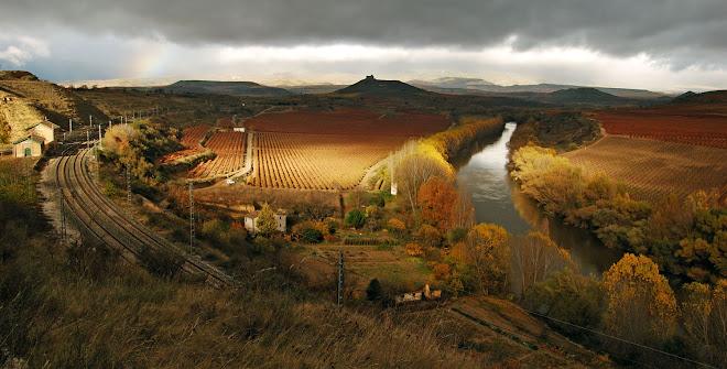 landscape of San Asensio (La Rioja - Spain)