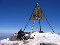 Gipfelaufbau des Toubkal (4165m)