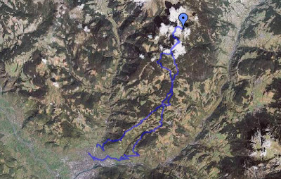 Track Mountainbiketour Bozen - Rittnerhorn