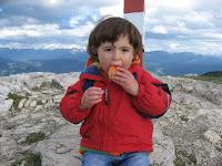 Am Gipfel des Monte Roen