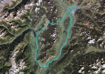 Route Bozen - Mendelpass - Mezzocorona