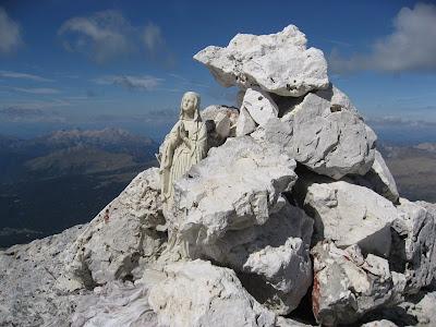 Gipfelaufbau Cima Vezzana - 3192m