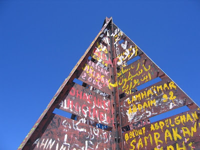 Gipfelaufbau Jebel Toubkal - 4165m