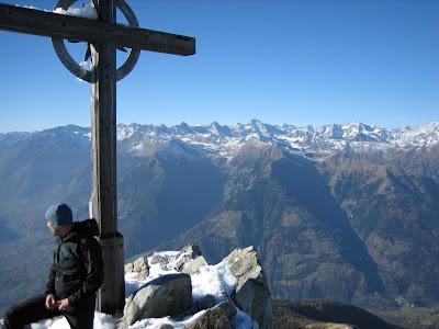 Gipfelkreuz Grosser Ifinger - Suedtirol