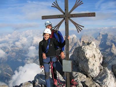 Gipfelkreuz Grosse Zinne - Dolomiten