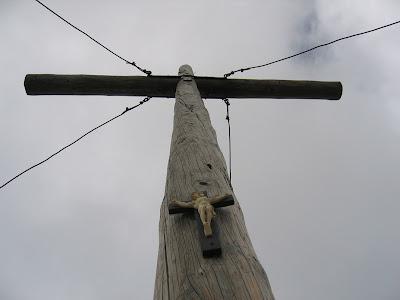 Gipfelkreuz Heiligkreuzkofel - Dolomiten