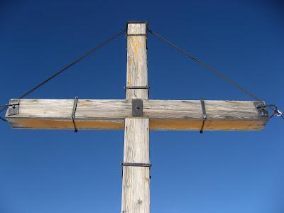 Gipfelkreuz Col Becchei - Dolomiten