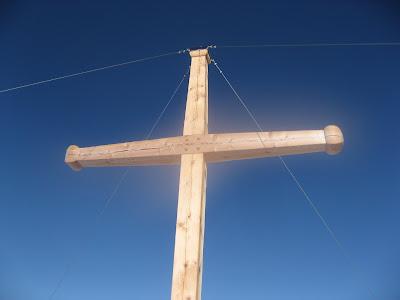 Gipfelkreuz Zwoelferkofel - Dolomiten