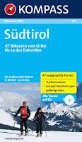 Kompass Skitourenfuehrer Suedtirol