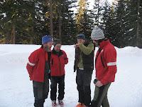 Mit Ulrich Kössler auf Skitour für die Sendung Bergwelt