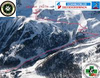 Nacht Skitourenrennen Kurzras Schnals