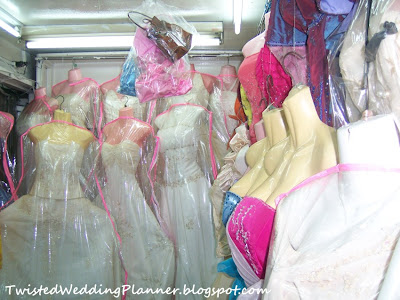 Weddings at Divisoria: Inexpensive but Glamorous Wedding Attire
