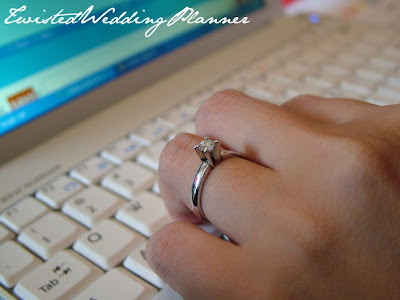 one true love would put a proper engagement ring on my finger