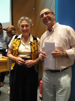 Con Lynn Margulis en Ourense