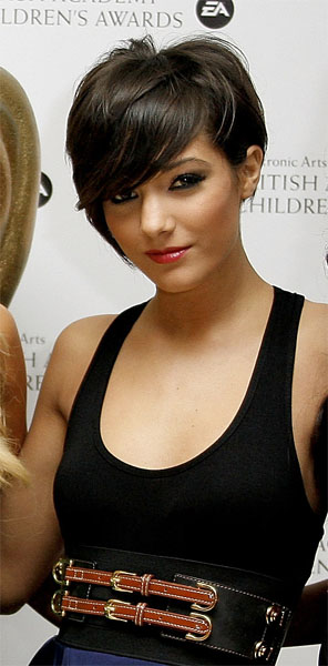 frankie sandford hairstyle front and. Frankie Sandford Hairstyle.