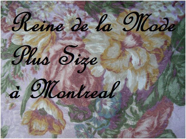 Reine de la Mode Plus Size à Montréal