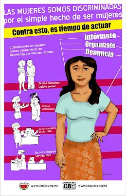 discriminacion hacia mujer: