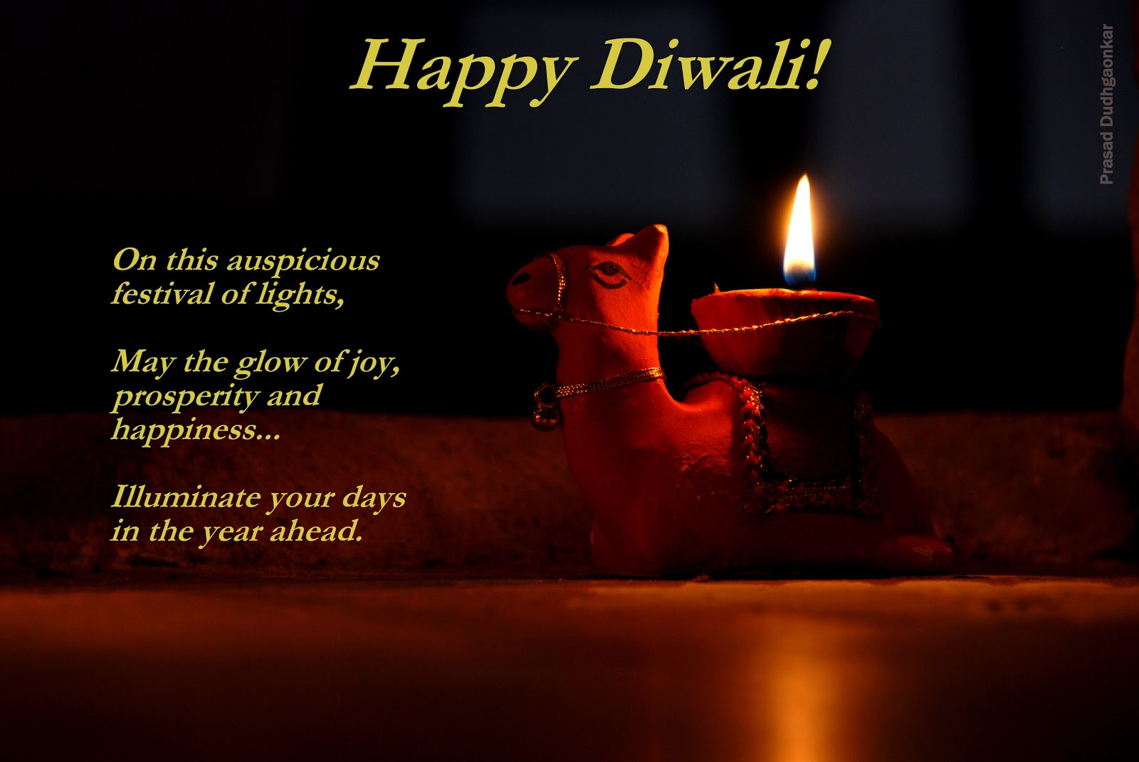 Prasads Excursions Downloadable Diwali Greeting