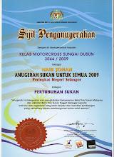 Naib Johan ASUS Peringkat Negeri Selangor
