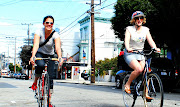 Bicycles San Francisco (1) - Elaine and Leah pica