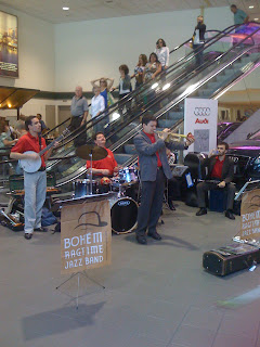 Jazz Jubilee in Sacramento Airport - Pastor C Myles Young