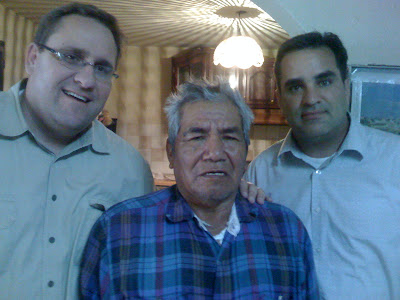 Pastor C. Myles Young, Bro Santo, & Dr. Paul Baumeister - www.mylesyoung.com