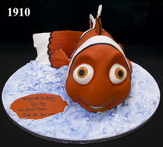 Nemo Disney birthday cake