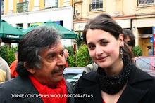 en el cumpleaños de Violeta con Angel Parra