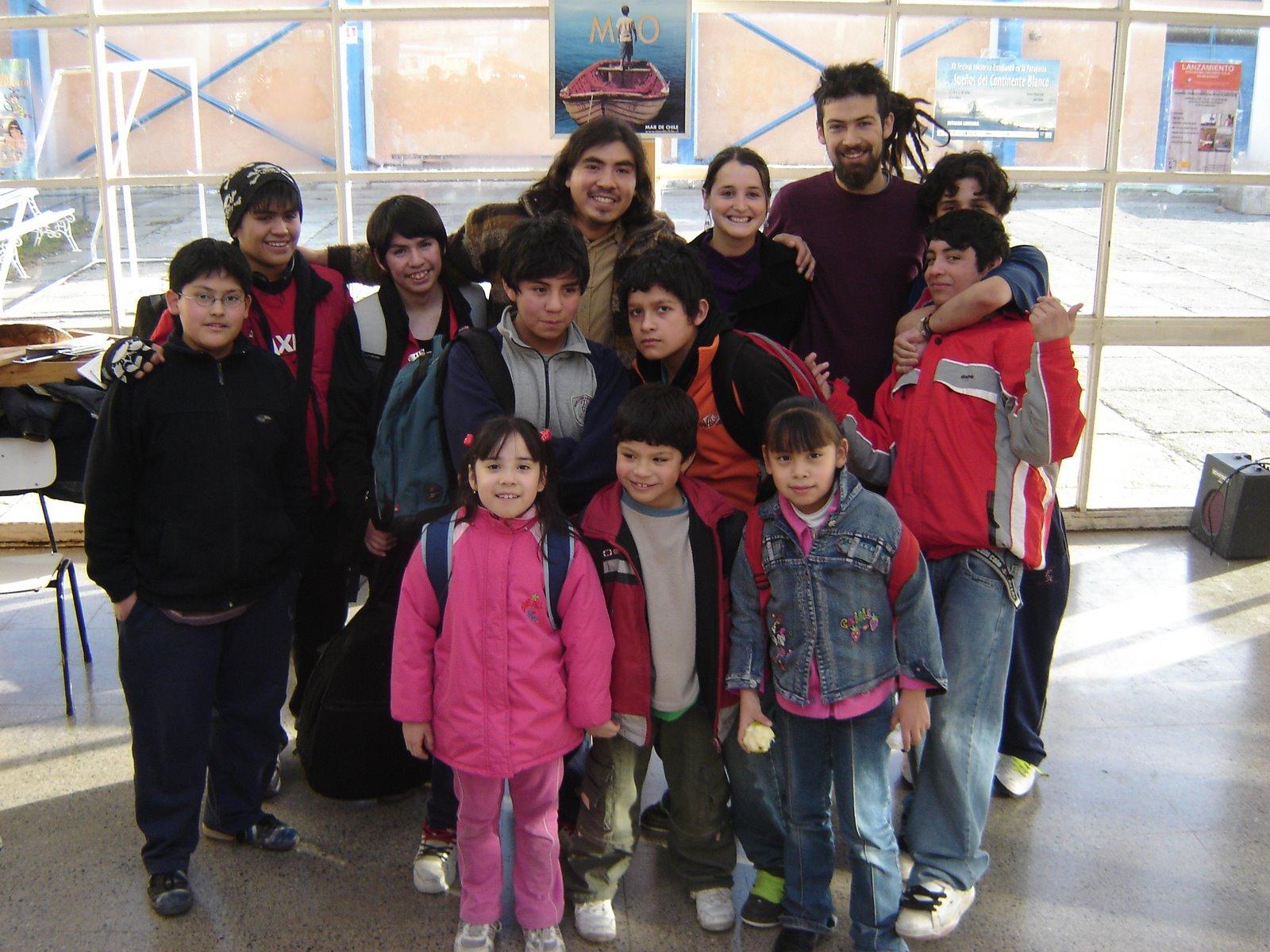 Taller musical en Punta Arenas