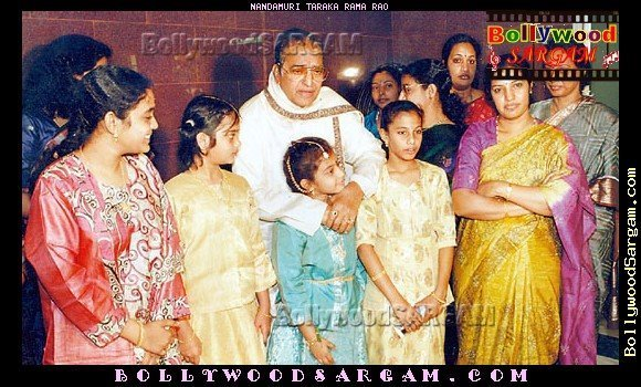 NTR with Daughters