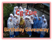 Cg Zue Birthday Giveaway
