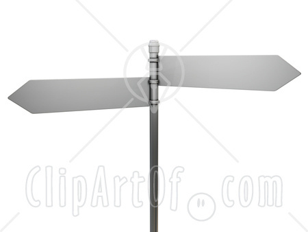 blank signpost. photo : Blank sign post