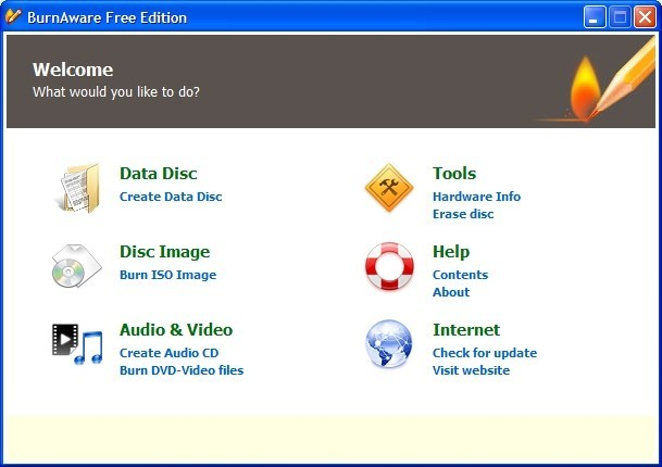 Descargar BurnAware Free Edition Gratis