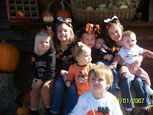 The kiddos at the pumpkin patch
