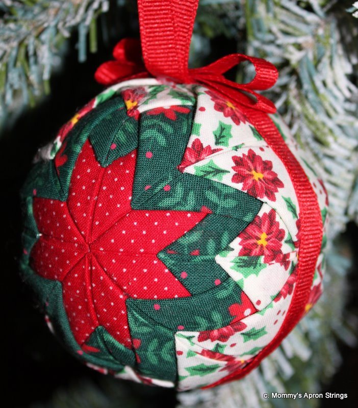 Quilting Christmas Ornaments Patterns : Mommy s Apron Strings: Quilted Star Ornaments