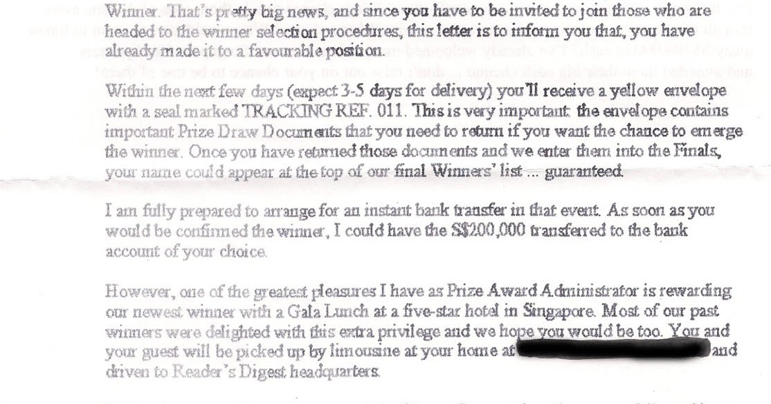 The readers digest scam in singapore clifton phuas blog fandeluxe Images