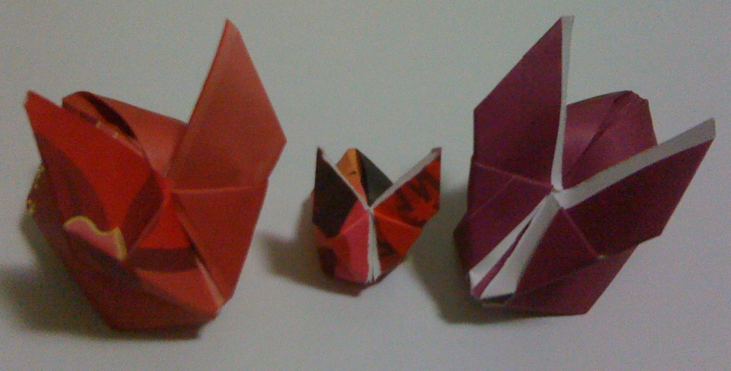 Rabbit origami for chinese new year clifton phua 39 s blog for Ang pao origami