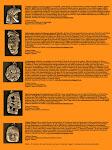 Tarjetón con la historia de los llaveros disponible para clientes