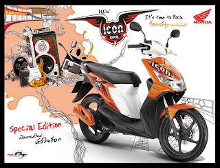 motor honda vario thailand yang sudah di modifikasi