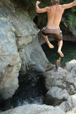 dangerous leap of faith funny photo