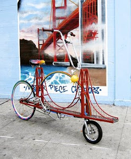 golden gate bridge bike invention funny photo