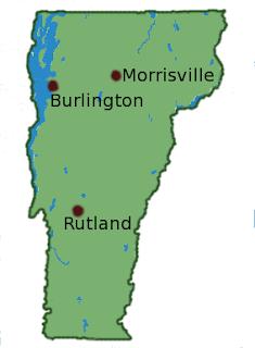 [Map: Vermont]