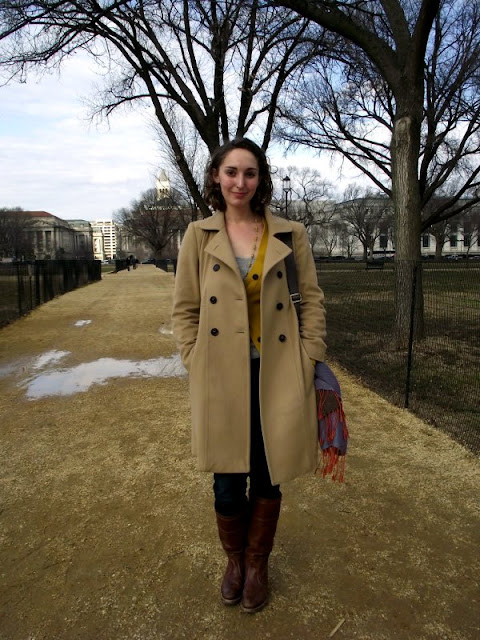 Womens fall fashion in DC, southern Street style, Washington DC street style, fashion on the National Mall